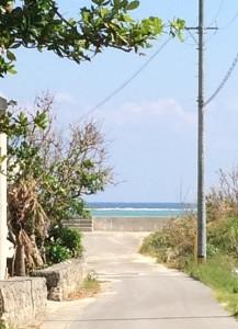 A-19から見える東の海、それは美しく心躍る風景です
